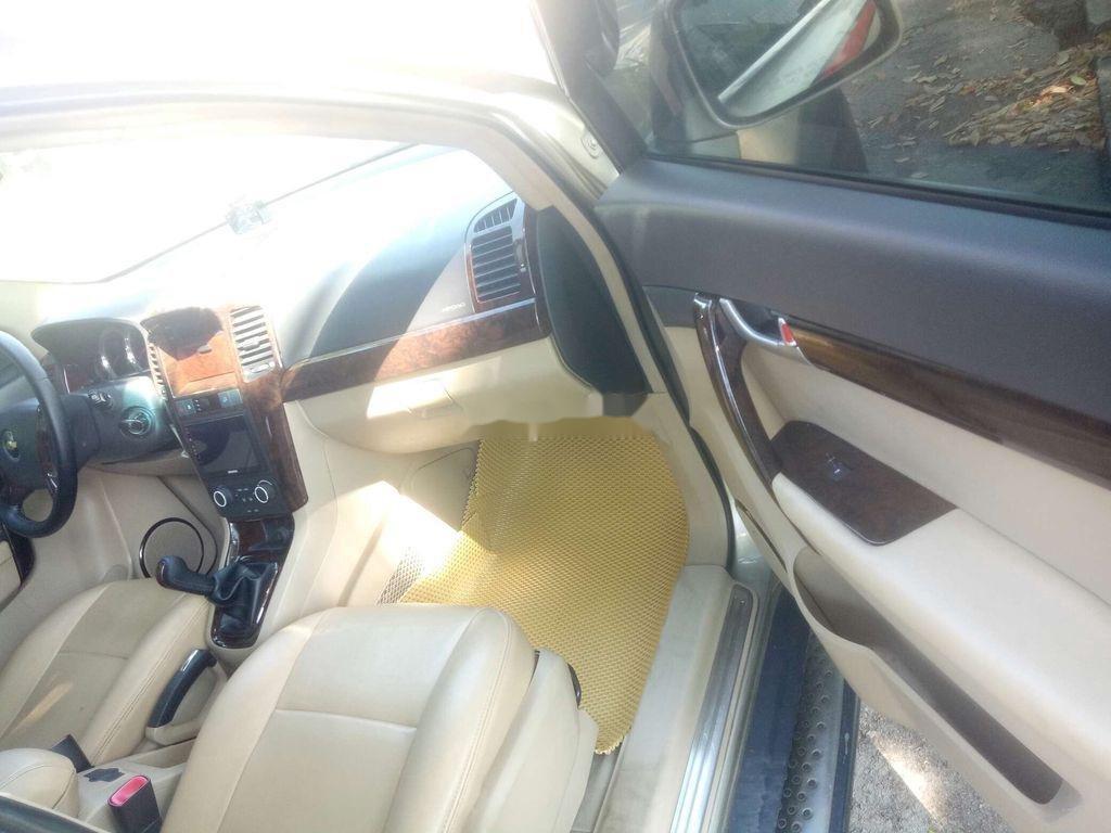 Bán Chevrolet Captiva sản xuất 2008, màu vàng cát (6)