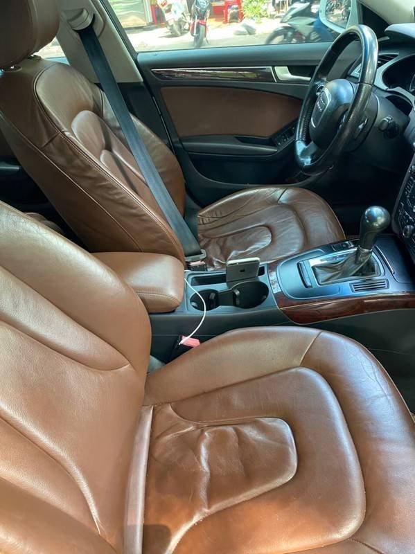 Bán xe Audi A4 sản xuất năm 2009, màu trắng, xe nhập chính chủ, giá tốt (7)