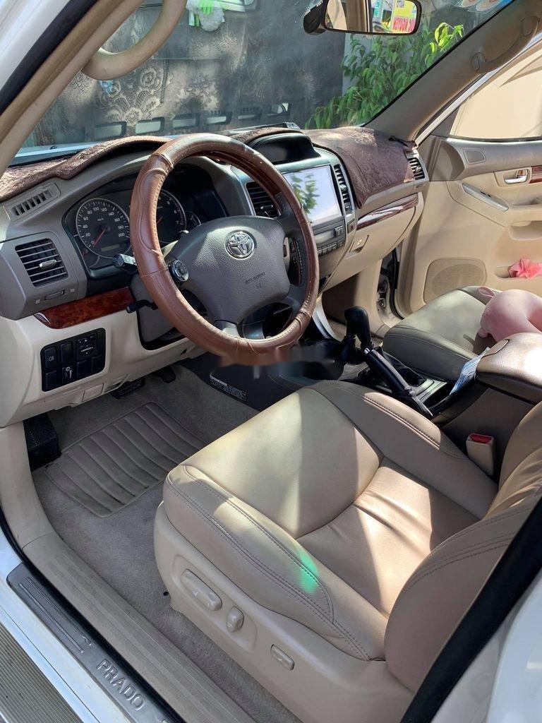Bán ô tô Toyota Prado 2004, màu trắng, 7 chỗ ngồi (2)