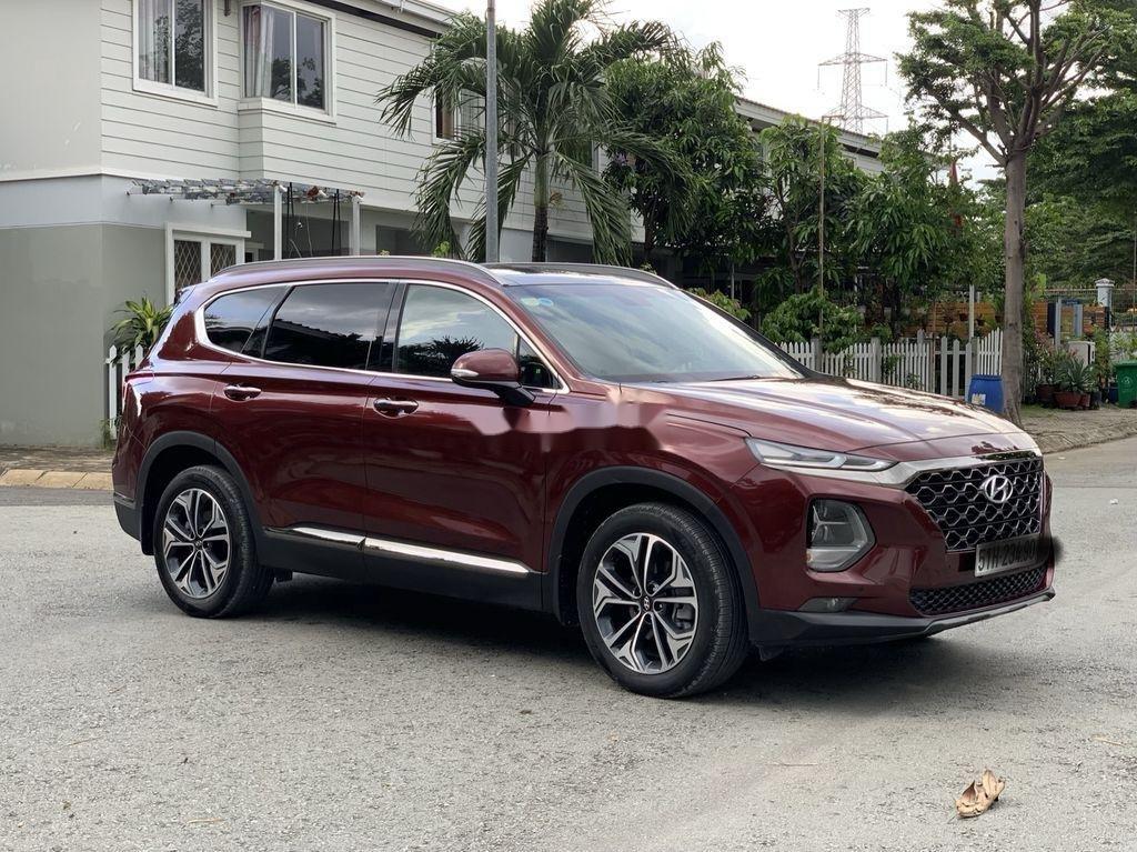 Bán Hyundai Santa Fe năm sản xuất 2019, màu đỏ   (6)