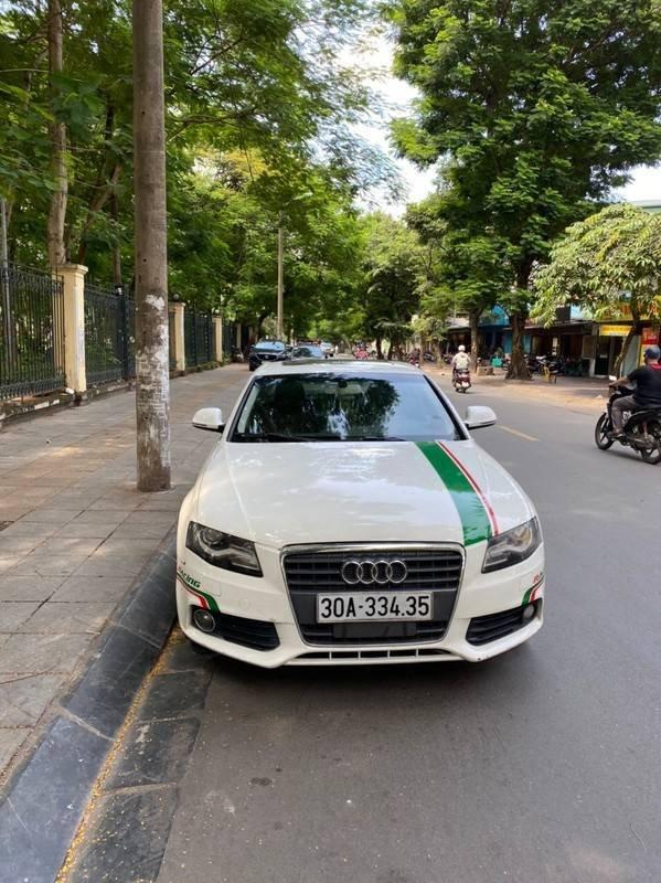 Bán xe Audi A4 sản xuất năm 2009, màu trắng, xe nhập chính chủ, giá tốt (1)
