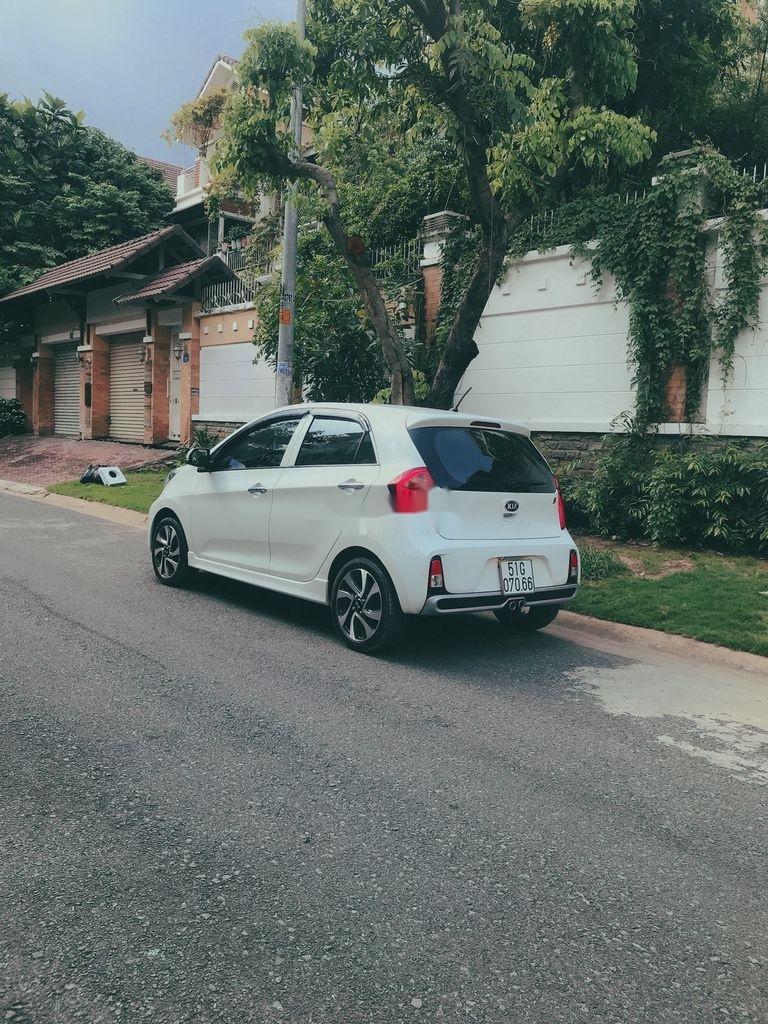 Bán xe Kia Morning 1.25AT đời 2018, màu trắng, 342 triệu (6)