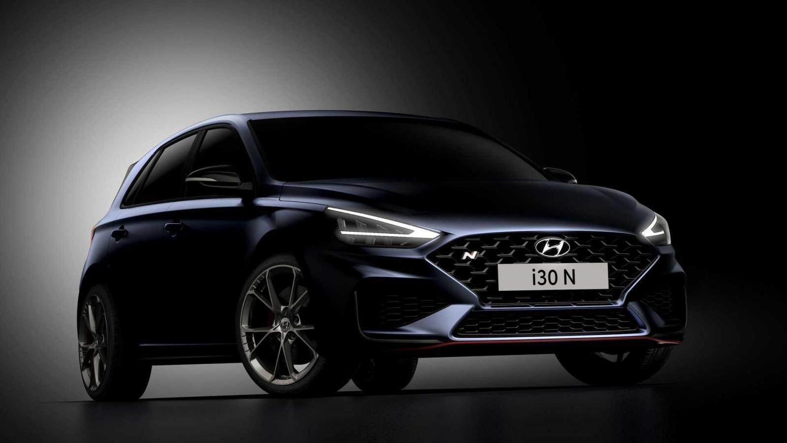 Hyundai i30 N 2021 nhanh nhẹn và bắt mắt hơn