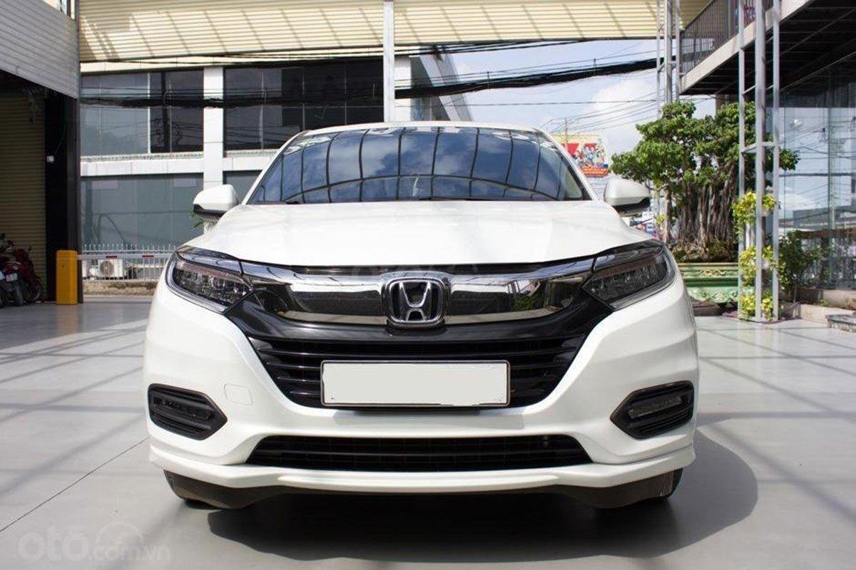 Thiết kế đầu xe Honda HR-V 2019 1