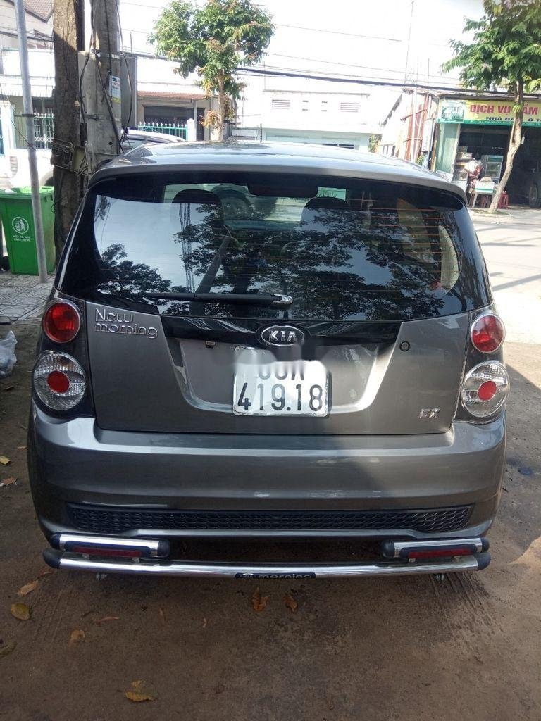 Bán Kia Morning đời 2012, màu xám, xe chính chủ (5)