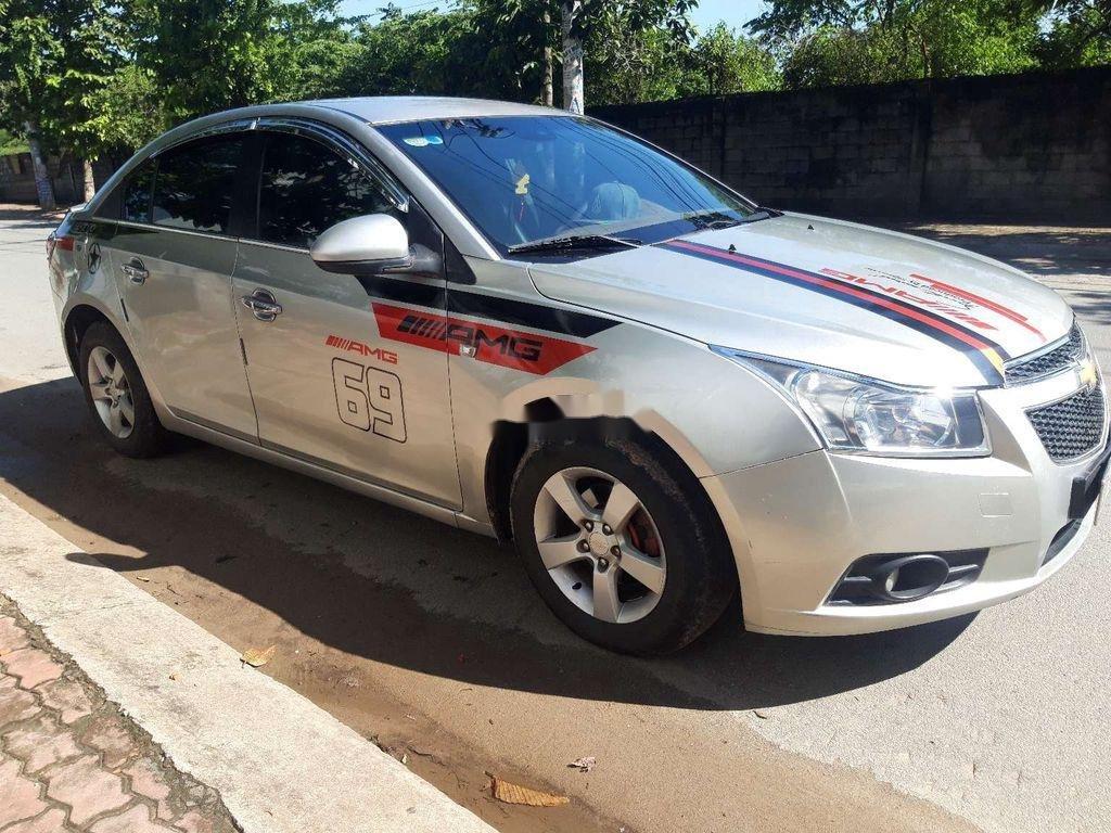 Bán ô tô Chevrolet Cruze đời 2010, màu bạc, nhập khẩu  (2)