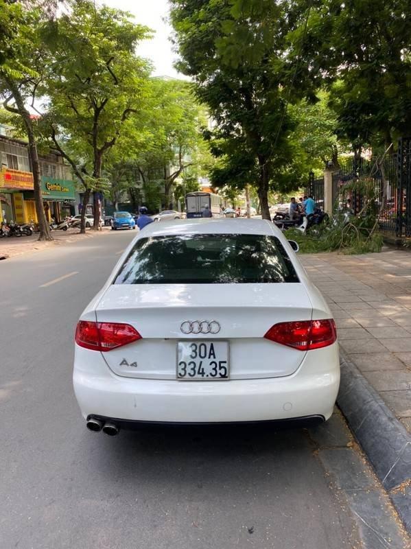 Bán xe Audi A4 sản xuất năm 2009, màu trắng, xe nhập chính chủ, giá tốt (3)