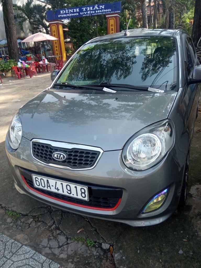 Bán Kia Morning đời 2012, màu xám, xe chính chủ (1)