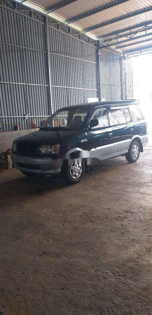 Cần bán lại xe Mitsubishi Jolie sản xuất năm 2001, màu xanh lam, nhập khẩu  (1)