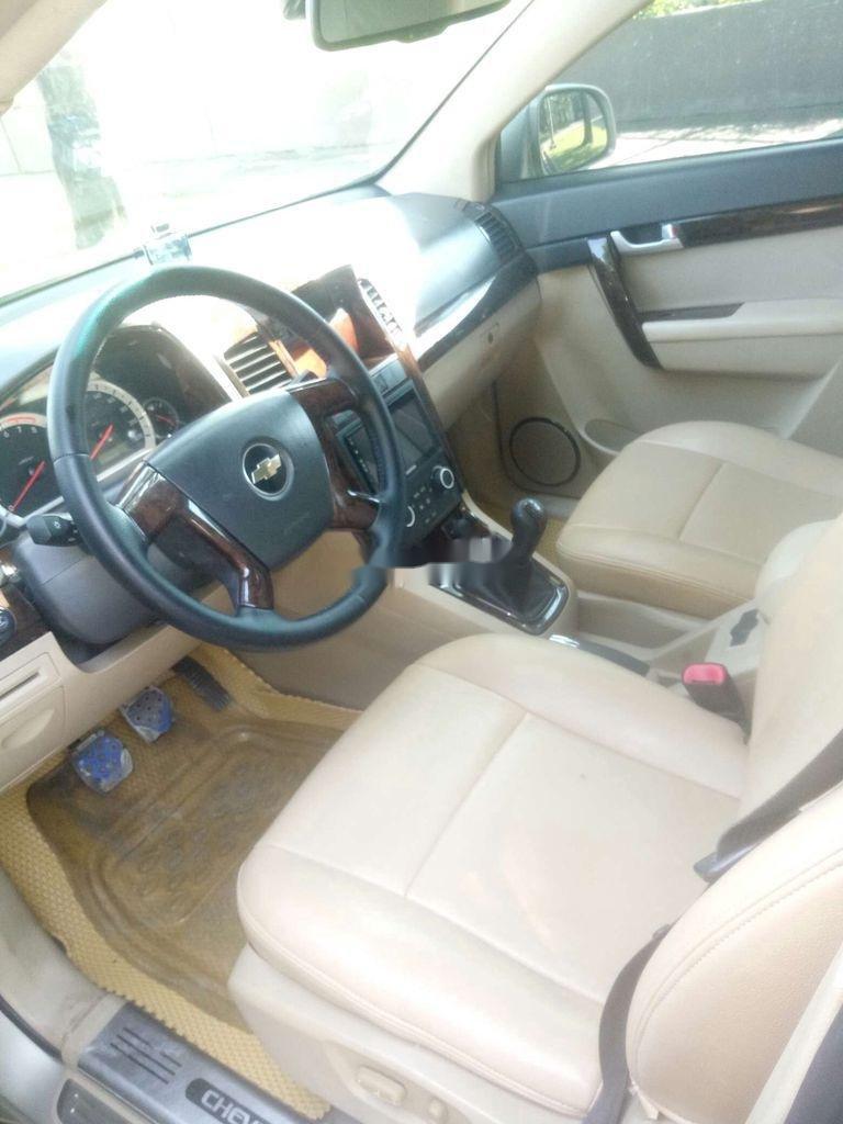 Bán Chevrolet Captiva sản xuất 2008, màu vàng cát (7)