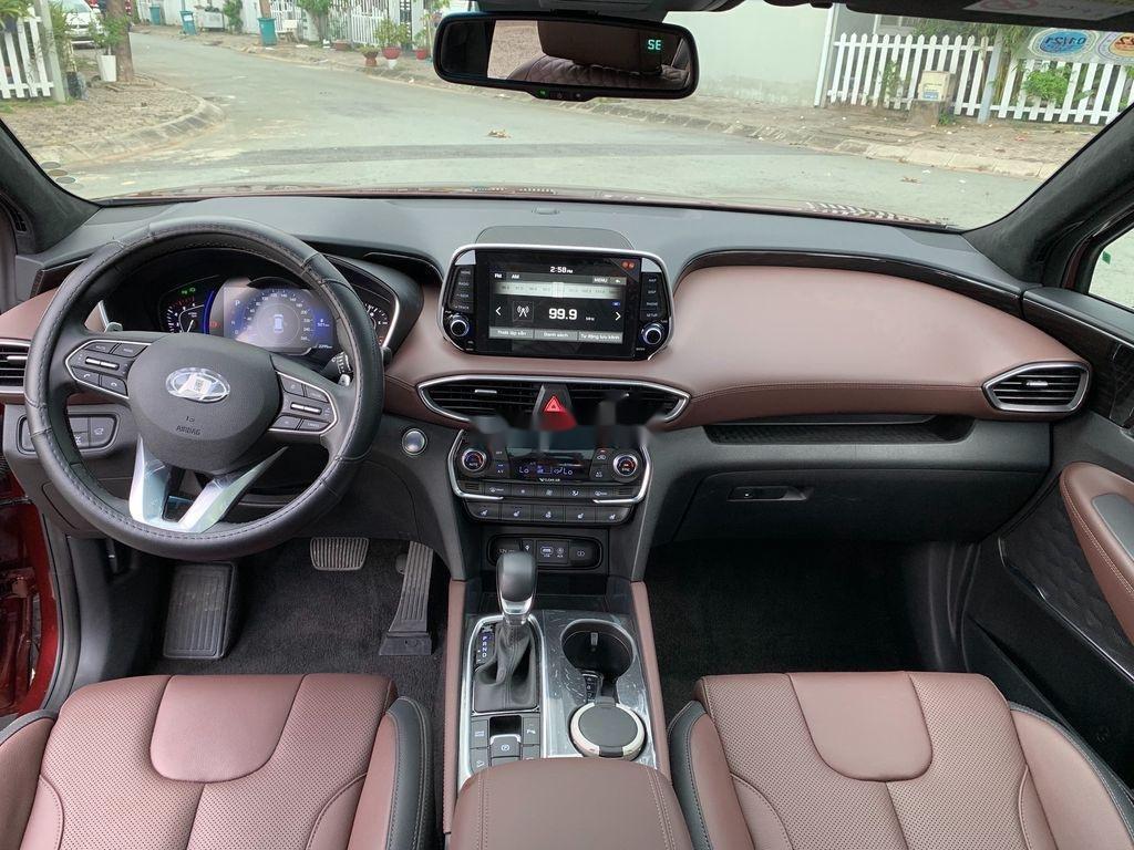 Bán Hyundai Santa Fe năm sản xuất 2019, màu đỏ   (8)