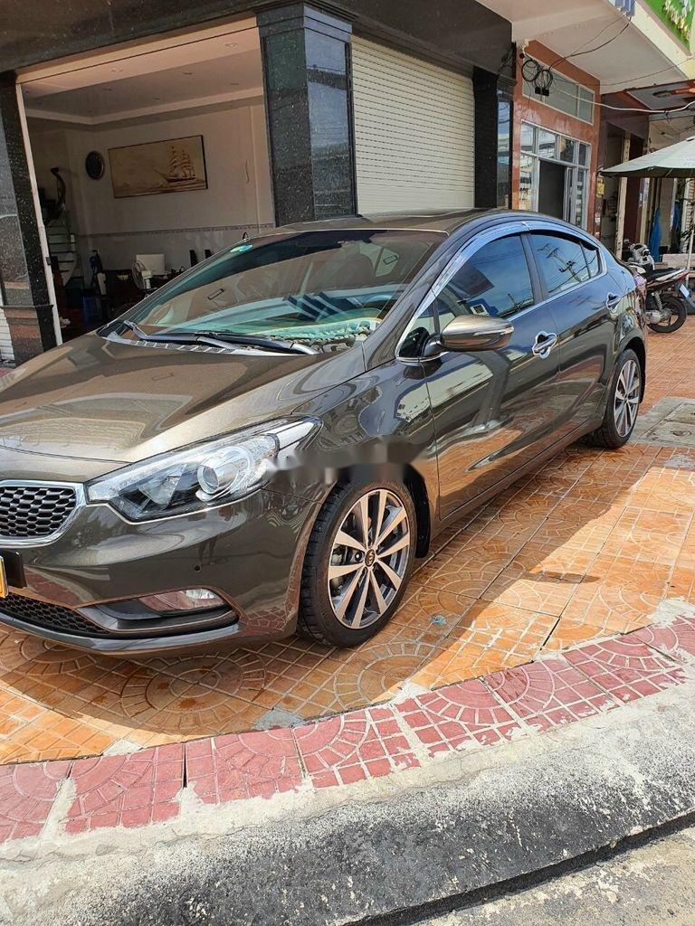 Bán Kia K3 năm sản xuất 2015, màu nâu, xe cũ chính hãng (4)