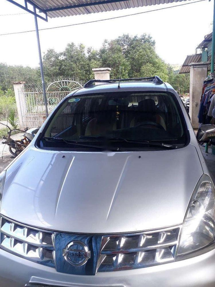 Gia đình bán Nissan Livina sản xuất 2011, màu bạc, xe nhập (1)
