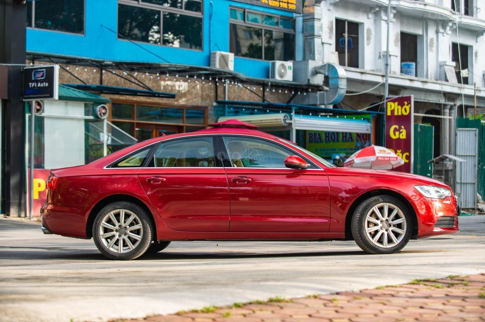 Bán Audi A6 3.0 TFSI Quattro, sản xuất 2014, đăng ký 2015, màu đỏ (4)