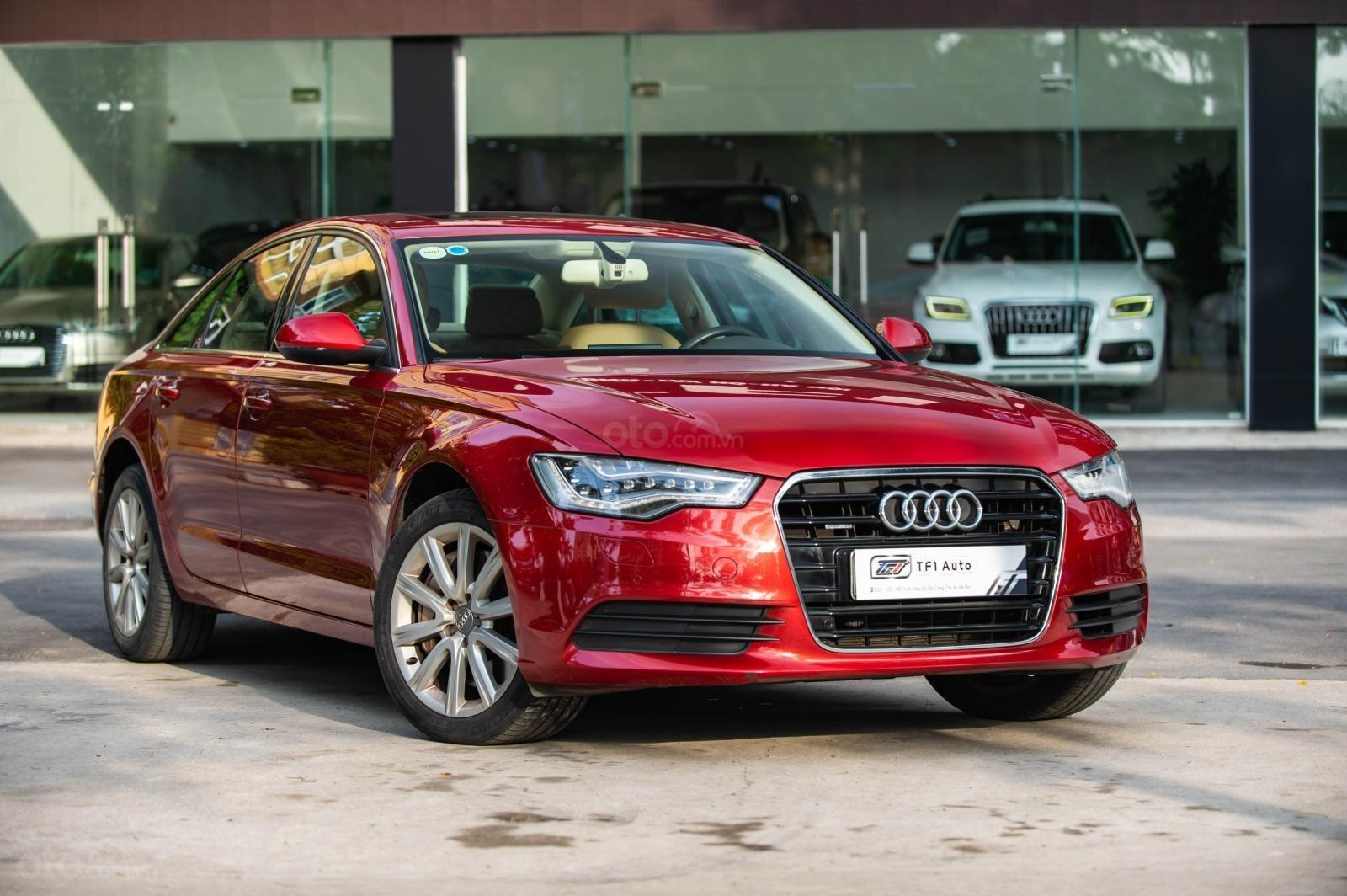 Bán Audi A6 3.0 TFSI Quattro, sản xuất 2014, đăng ký 2015, màu đỏ (6)