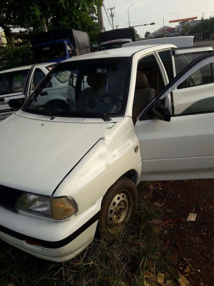 Bán Kia Pride sản xuất năm 1995, màu trắng, xe nhập, giá chỉ 35 triệu (6)