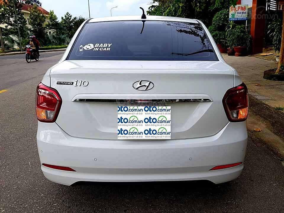 Bán ô tô Hyundai Grand i10 sản xuất năm 2015, màu trắng, nhập khẩu nguyên chiếc   (3)