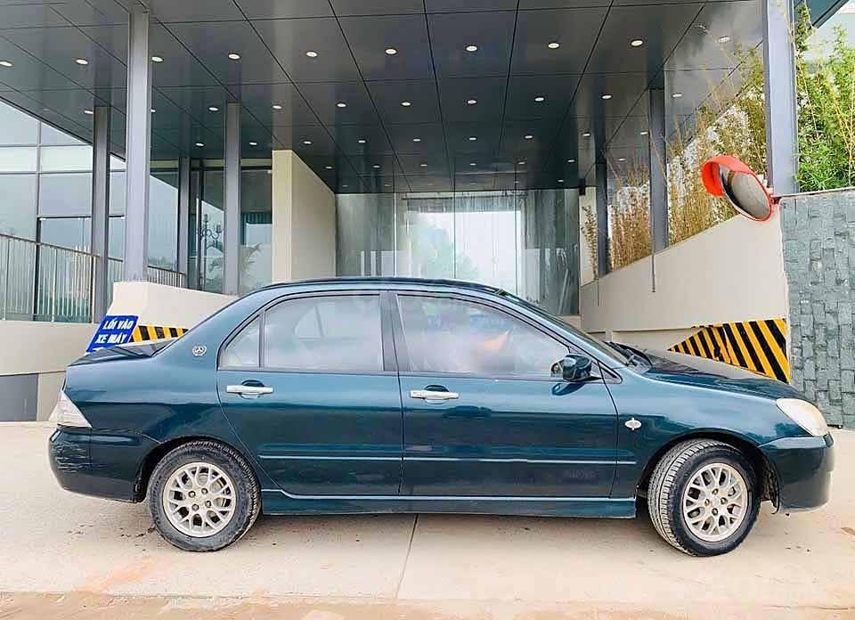 Bán ô tô Mitsubishi Lancer sản xuất 2003, màu xanh lam còn mới  (4)