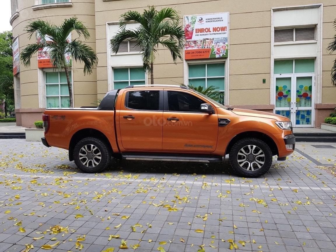 Cần bán xe Ford Ranger AT màu cam, năm sản xuất 2016, giá thấp, giao nhanh toàn quốc (2)