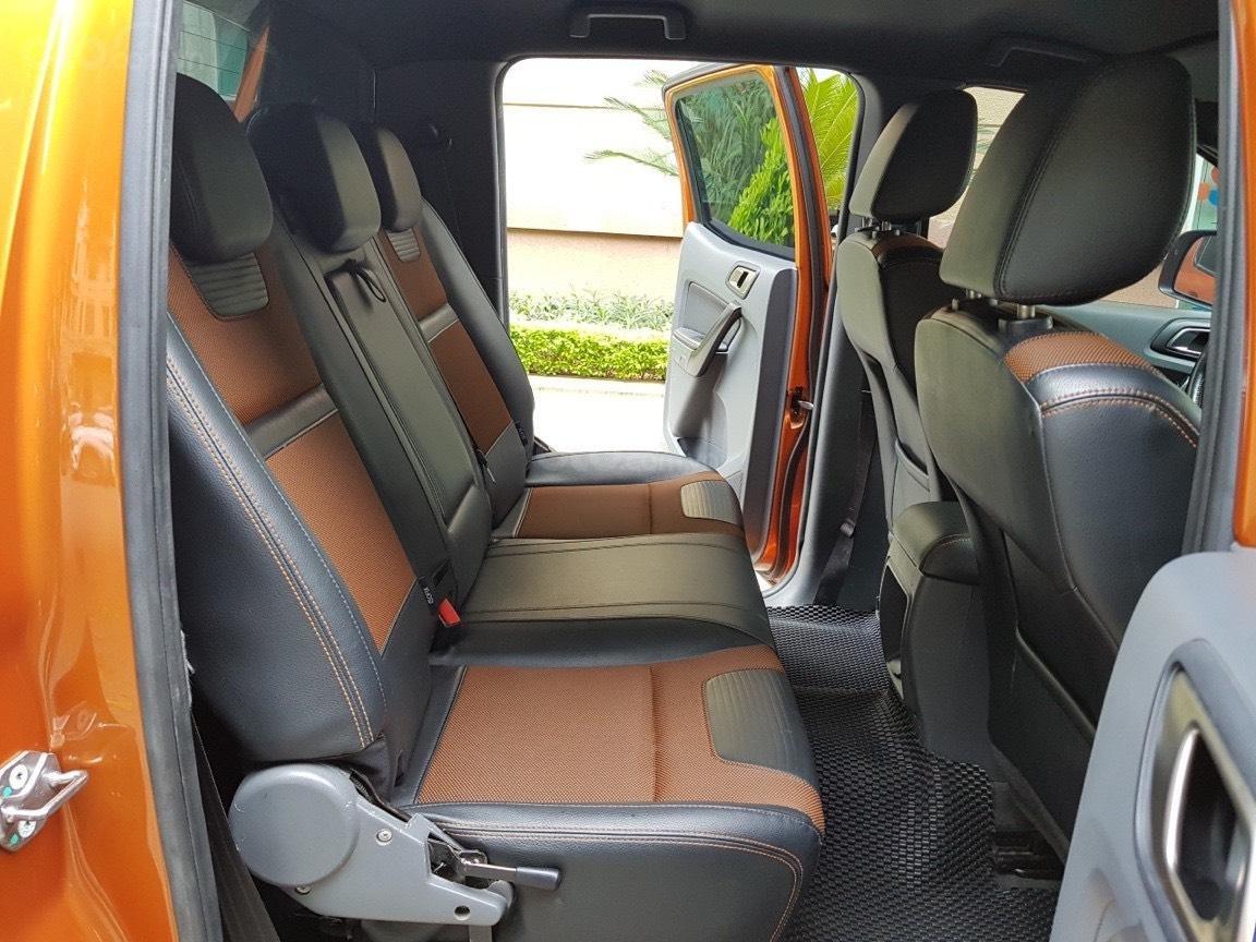 Cần bán xe Ford Ranger AT màu cam, năm sản xuất 2016, giá thấp, giao nhanh toàn quốc (8)