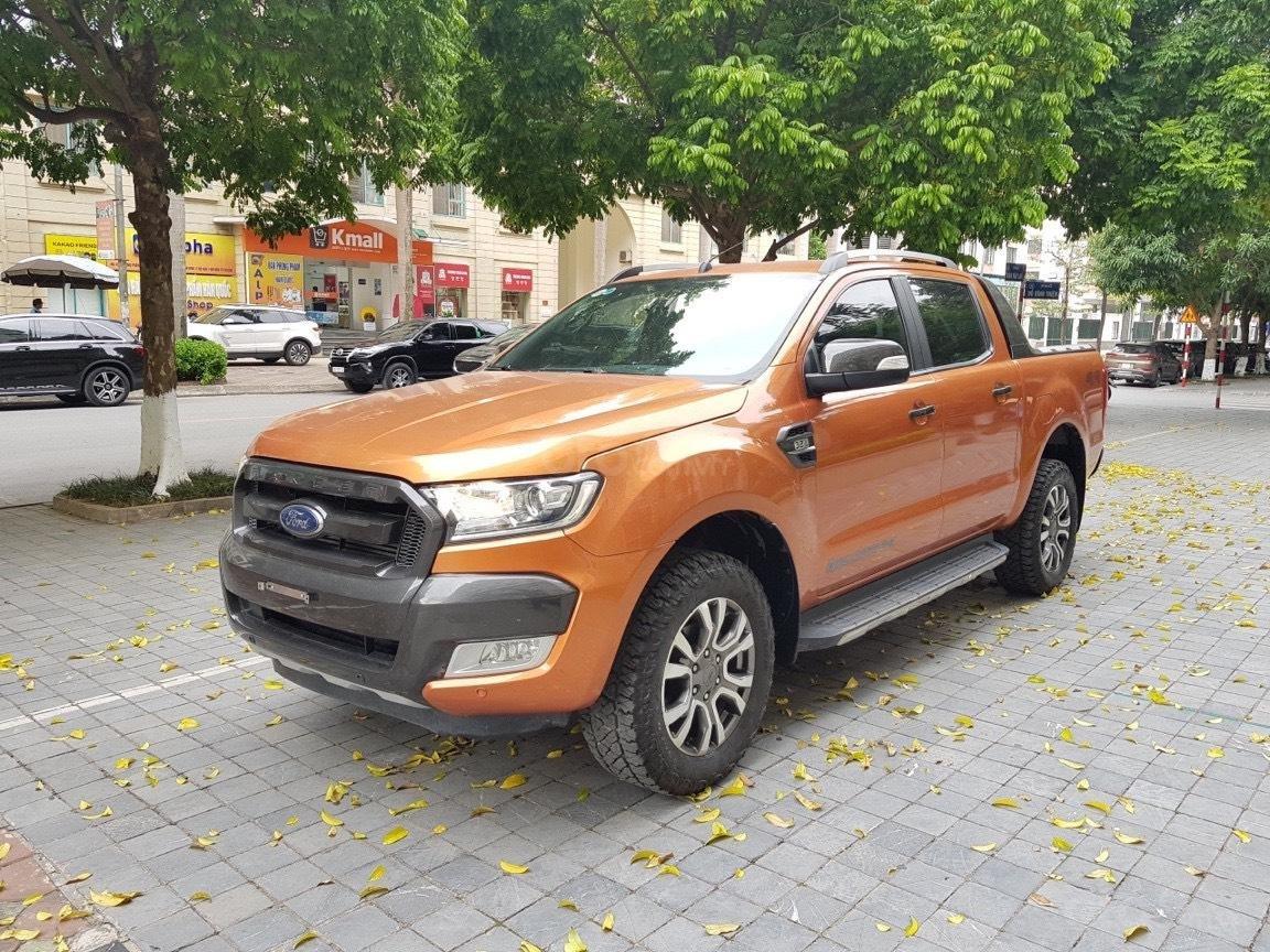 Cần bán xe Ford Ranger AT màu cam, năm sản xuất 2016, giá thấp, giao nhanh toàn quốc (3)