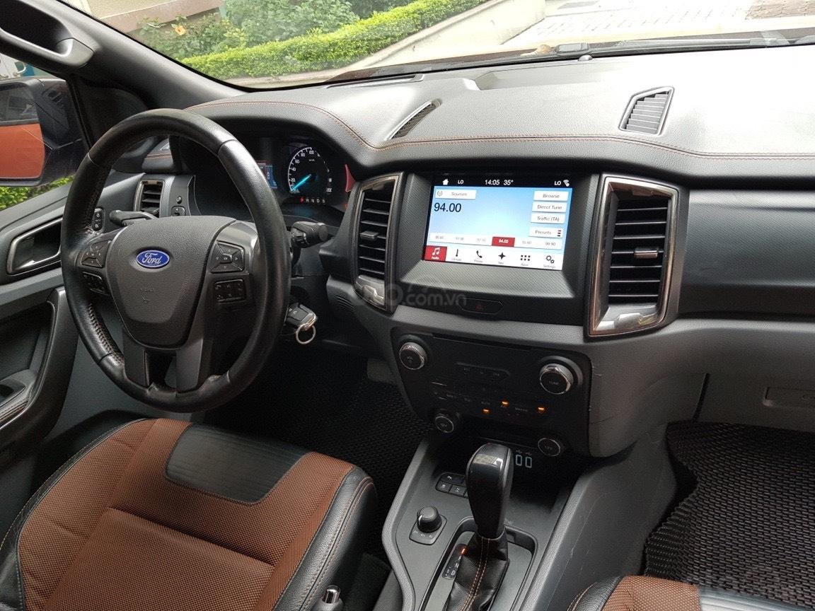 Cần bán xe Ford Ranger AT màu cam, năm sản xuất 2016, giá thấp, giao nhanh toàn quốc (6)