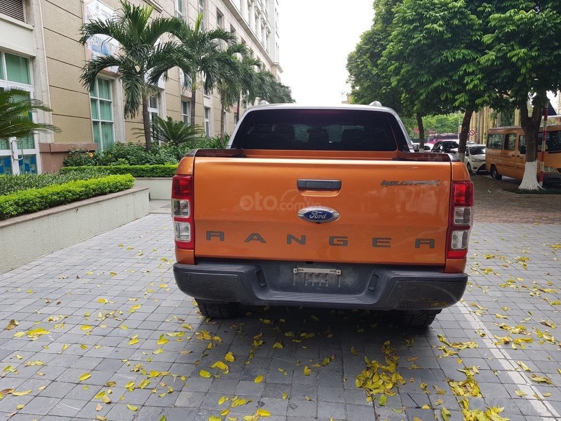 Cần bán xe Ford Ranger AT màu cam, năm sản xuất 2016, giá thấp, giao nhanh toàn quốc (4)