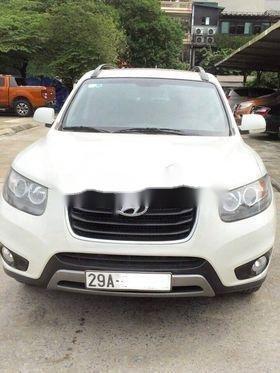 Bán Hyundai Santa Fe năm sản xuất 2011, màu trắng  (2)
