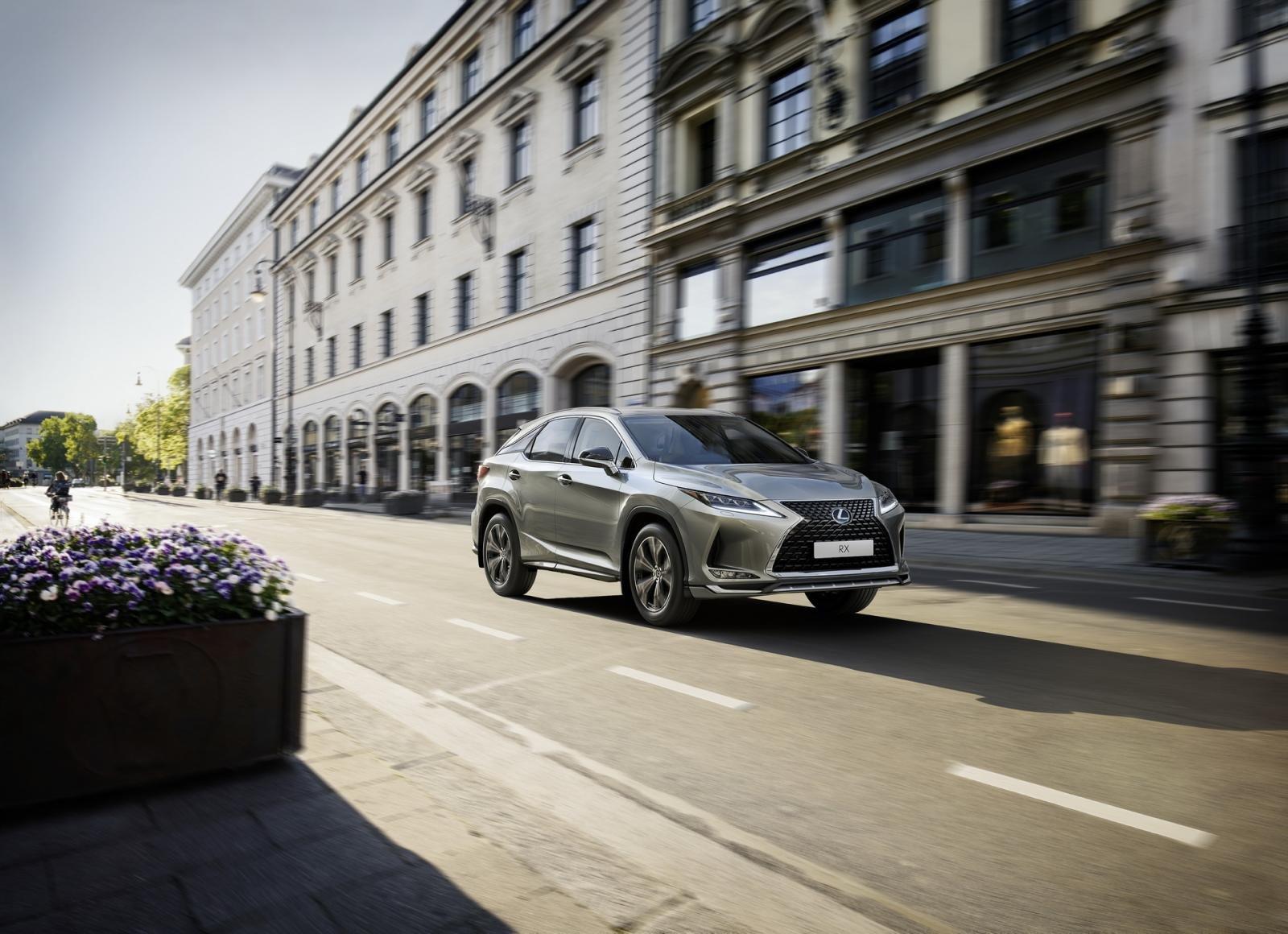 Lexus RX 2021 Sport Edition thể thao tột đỉnh