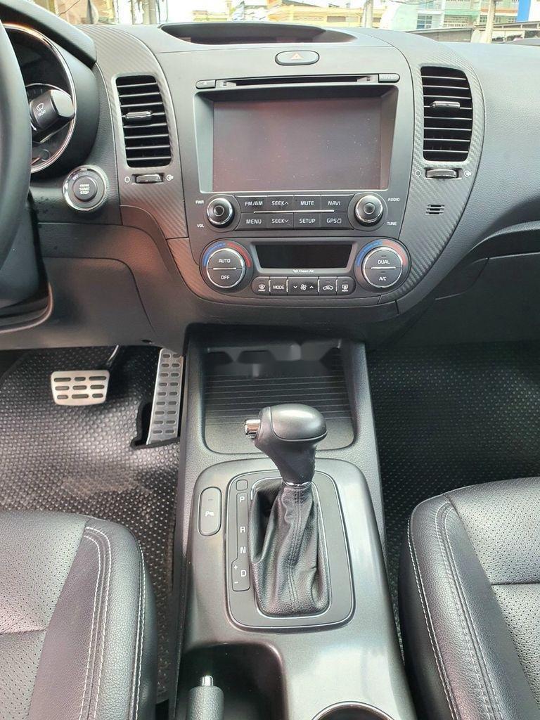 Bán Kia K3 năm sản xuất 2015, màu nâu, xe cũ chính hãng (7)