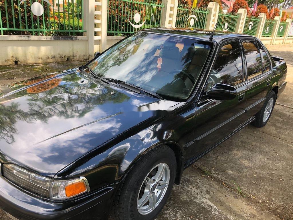 Bán Honda Accord năm sản xuất 1991, màu đen, nhập khẩu, tiết kiệm xăng (2)