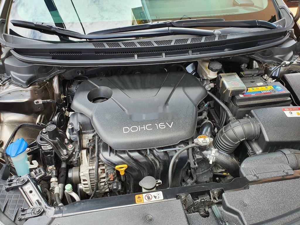 Bán Kia K3 năm sản xuất 2015, màu nâu, xe cũ chính hãng (11)
