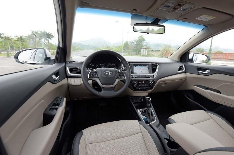 Hyundai Accent AT đầy đủ màu sắc giao ngay. Gía ưu đãi cực thấp T9 kèm theo nhiều ưu đãi và phụ kiện hấp dẫn (4)