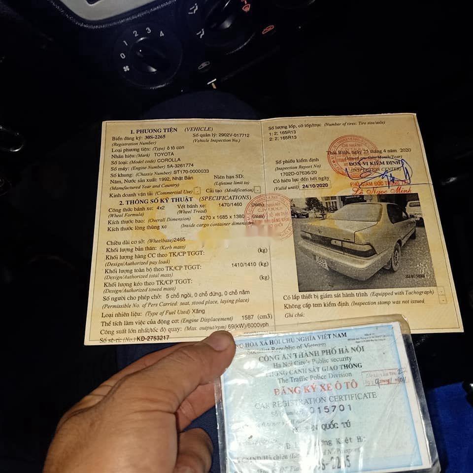 Bán Toyota Corolla sản xuất 1994, nhập khẩu (4)