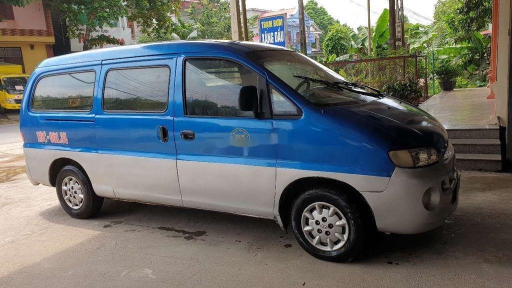 Bán Hyundai Starex đời 1999, màu xanh lam, xe nhập, bán tải 1 tấn (2)