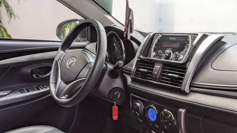 Bán ô tô Toyota Vios năm 2016, màu nâu còn mới (8)