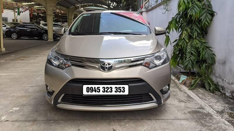 Bán ô tô Toyota Vios năm 2016, màu nâu còn mới (3)