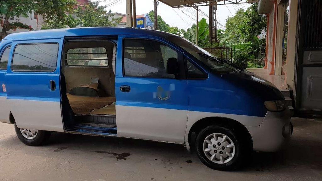 Bán Hyundai Starex đời 1999, màu xanh lam, xe nhập, bán tải 1 tấn (3)