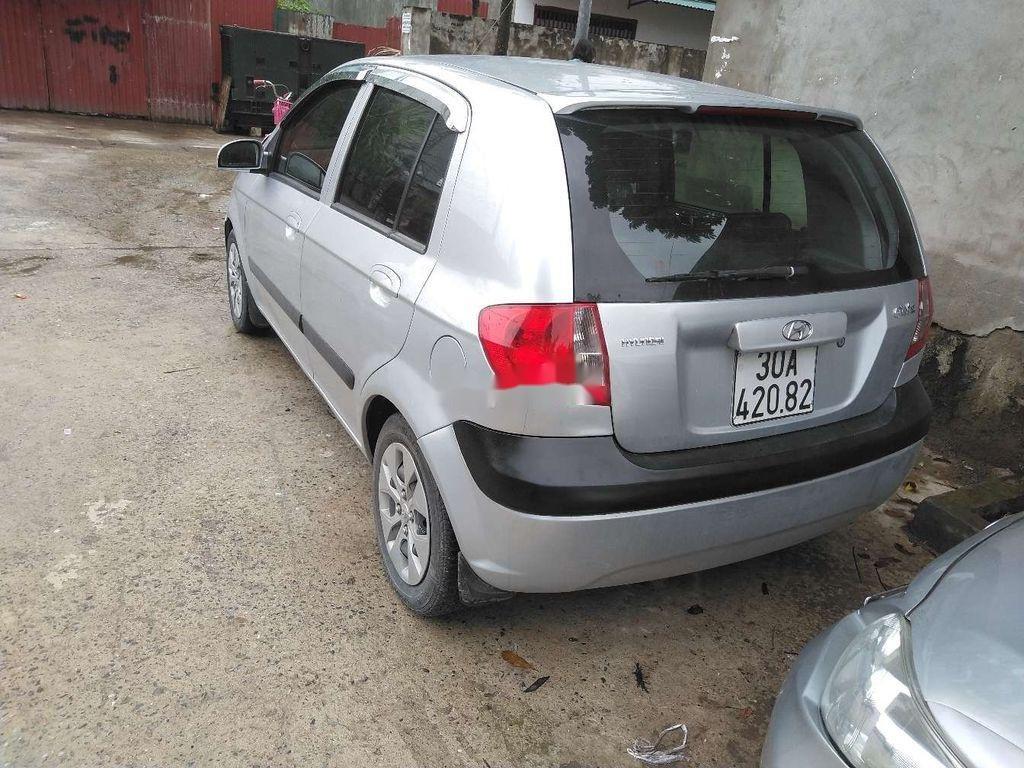 Bán xe Hyundai Getz đời 2008, màu bạc, nhập khẩu số tay (2)