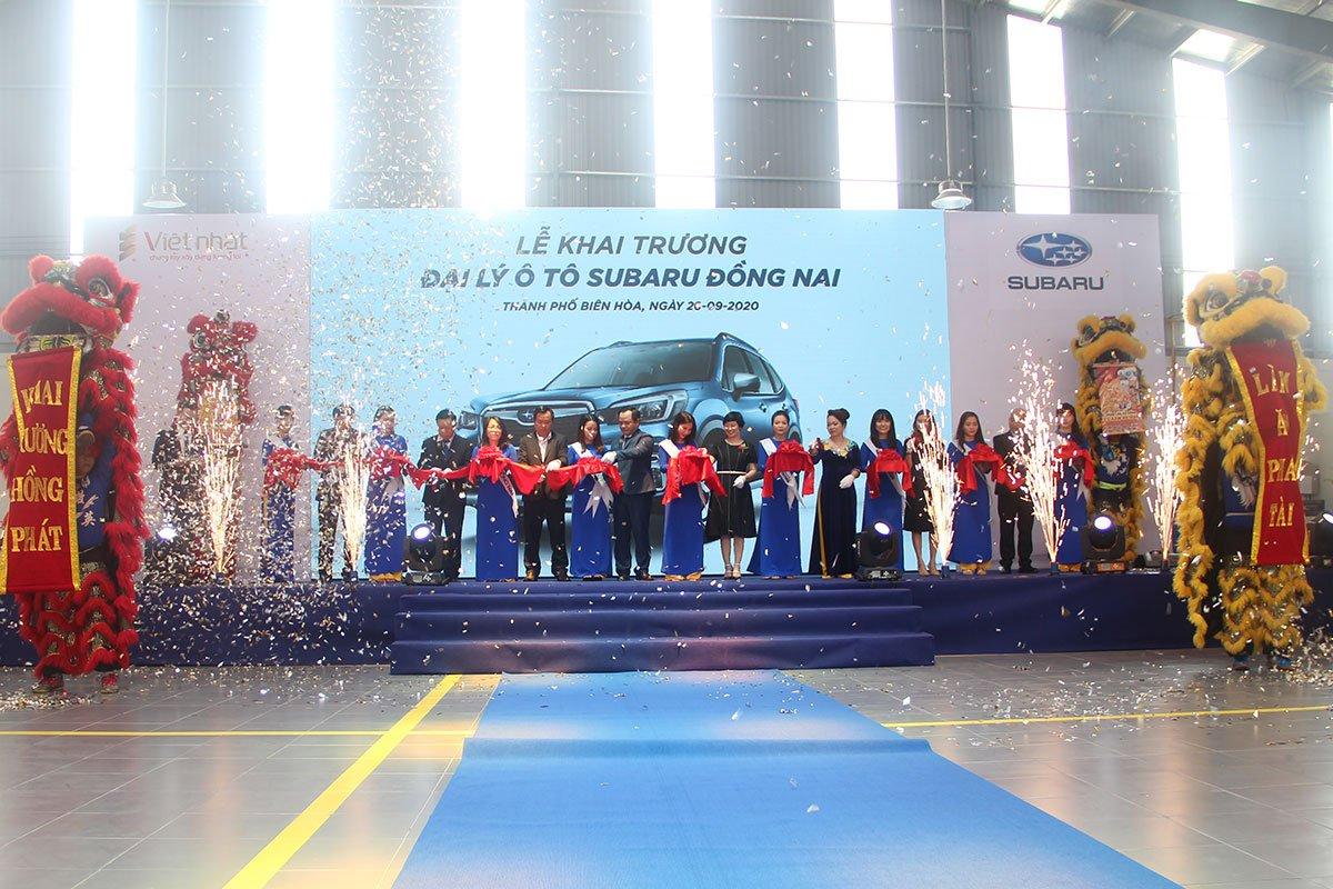 MIV khai trương đại lý mới Subaru Đồng Nai và trung tâm dịch vụ của đại lý Subaru Bình Triệu