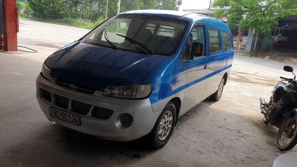 Bán Hyundai Starex đời 1999, màu xanh lam, xe nhập, bán tải 1 tấn (1)