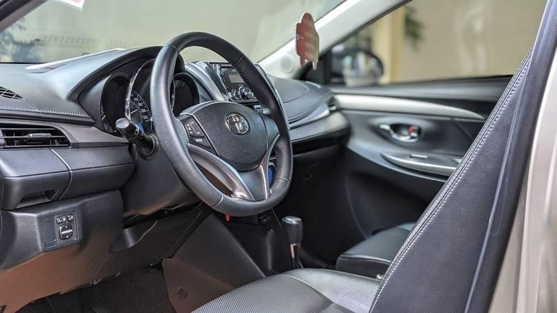 Bán ô tô Toyota Vios năm 2016, màu nâu còn mới (10)