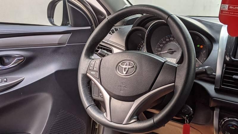 Bán ô tô Toyota Vios năm 2016, màu nâu còn mới (9)