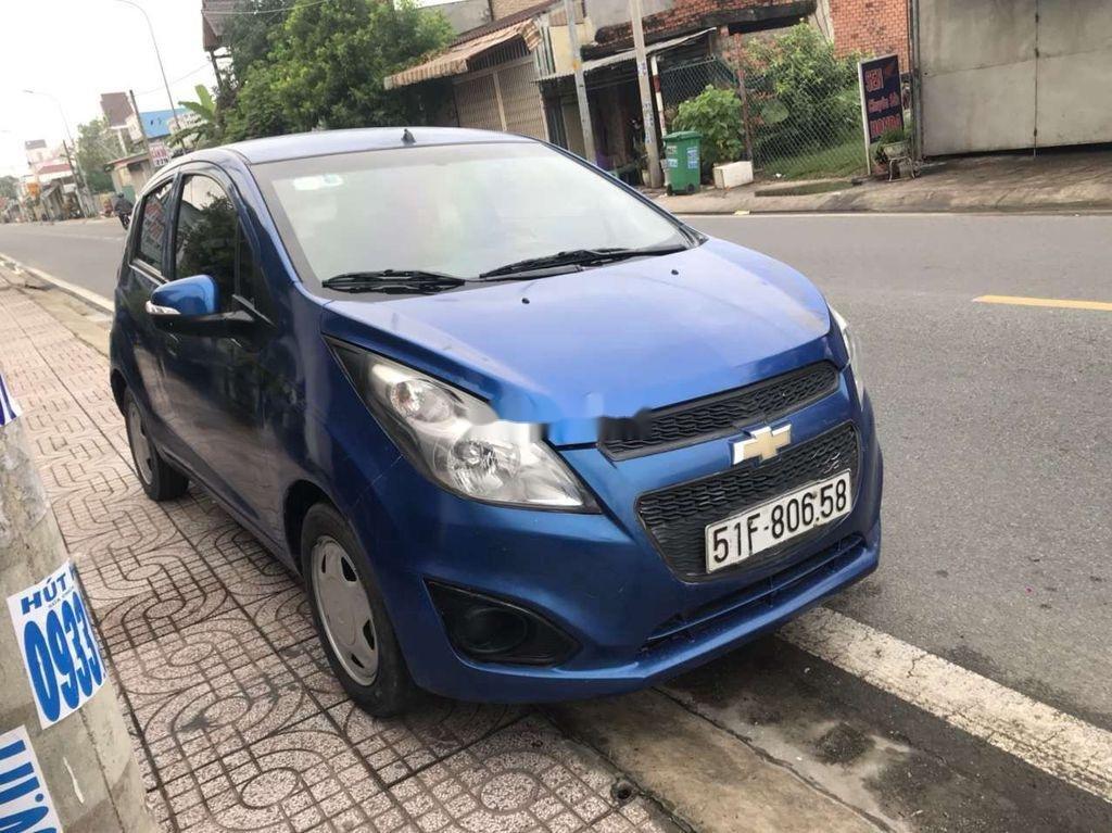 Bán Chevrolet Spark 2016, màu xanh lam còn mới (6)