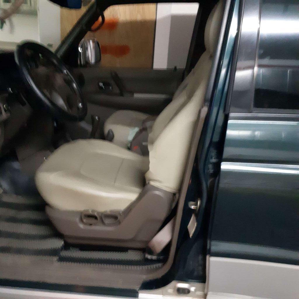 Bán Mitsubishi Pajero đời 2003, nhập khẩu, màu xanh dưa (6)