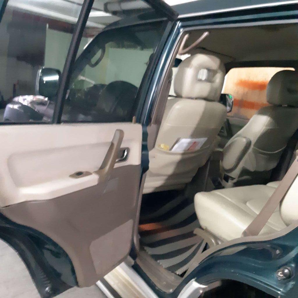 Bán Mitsubishi Pajero đời 2003, nhập khẩu, màu xanh dưa (8)