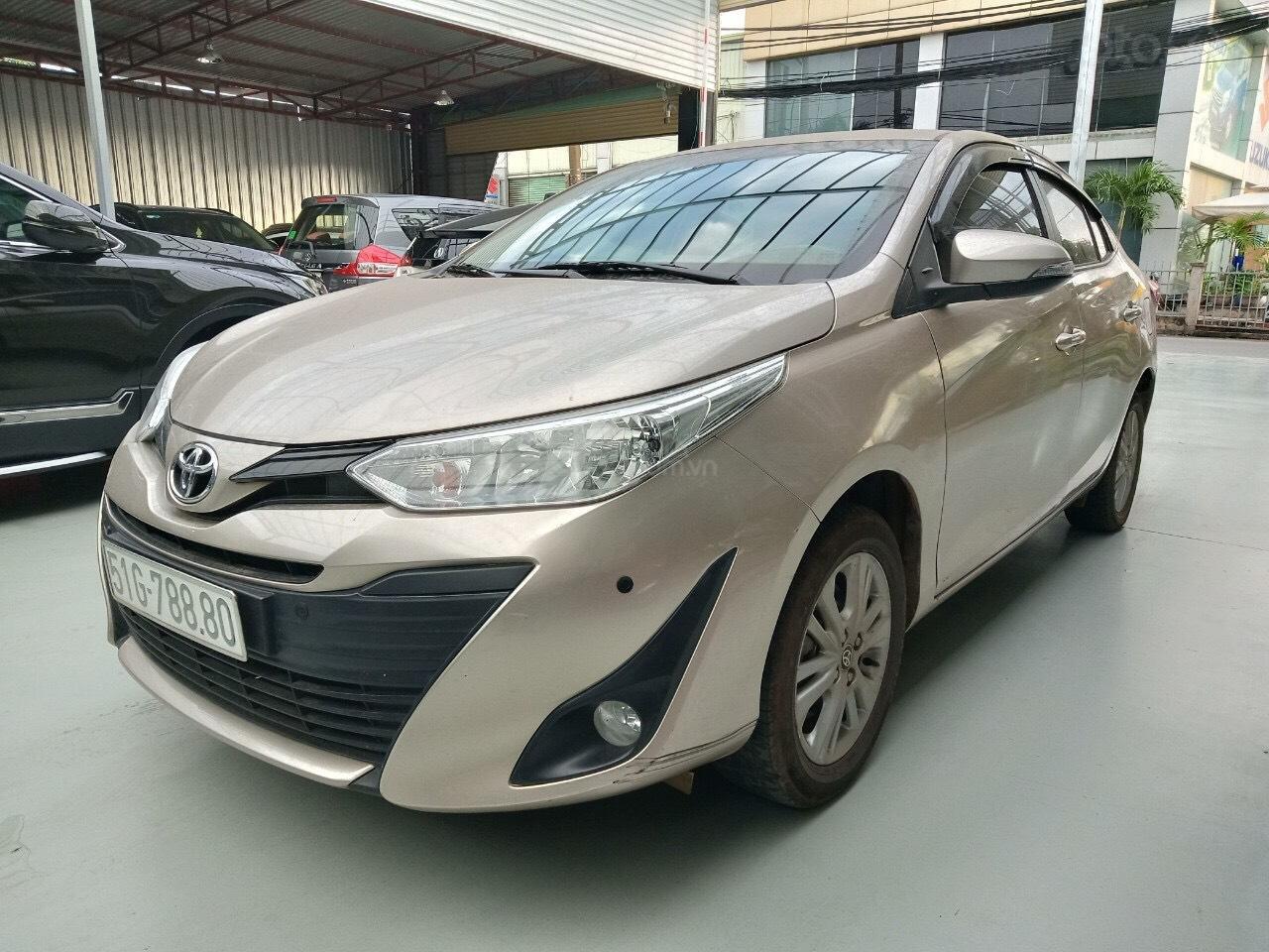 Xe Toyota Vios E 1.5 AT sản xuất cuối năm 2018 mẫu 2019, tự động, biển TP đẹp, lên full option, có trả góp (3)