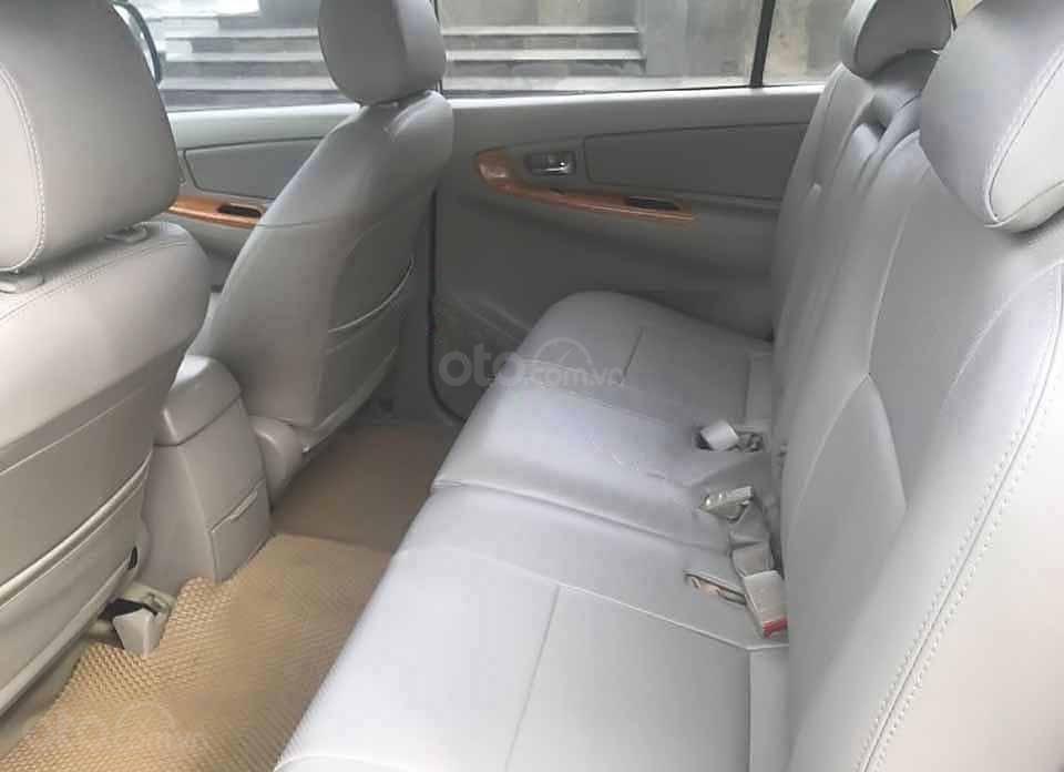 Bán xe Toyota Innova G đời 2009, màu bạc   (3)