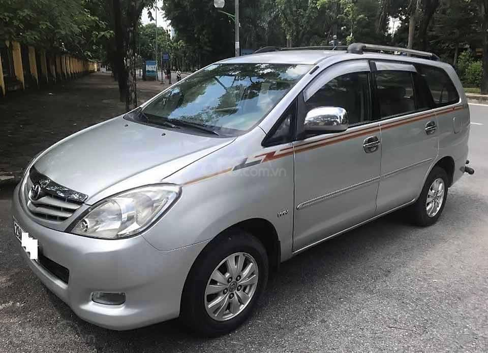 Bán xe Toyota Innova G đời 2009, màu bạc   (1)