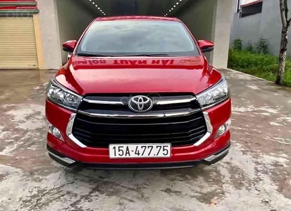 Bán Toyota Innova Venturer 2019, màu đỏ xe gia đình (3)